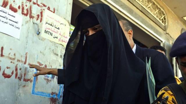 Traum von der Heirat: Huda al-Niran im Jemen (Archiv)