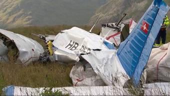 Flugzeugabsturz im Engadin am 4. August 2017