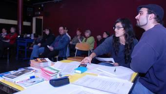 Diana Rojas (2. von rechts) will die Jugendlichen ins Quartierleben einbinden. by
