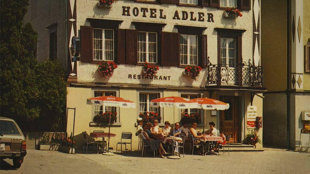Der «Adler» ist in Wolfhalden eine Institution.