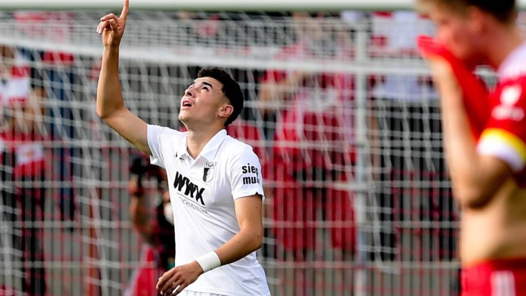 Ruben Vargas schoss Augsburg gegen Union Berlin in Führung