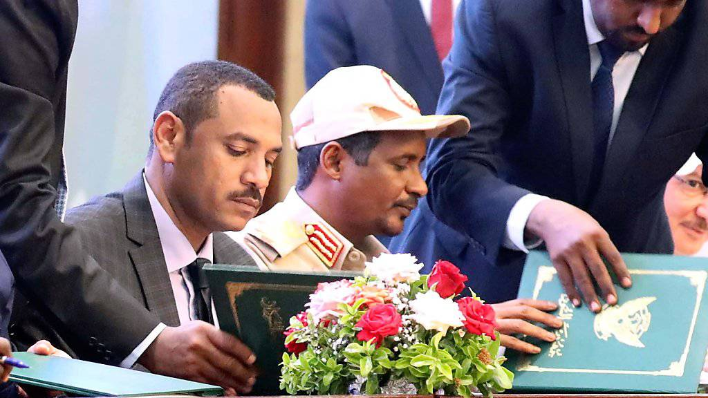 Übergangsregierung im Sudan besiegelt