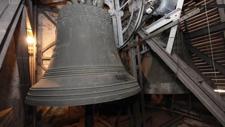 Die sieben Glocken der Kirche wiegen 13 Tonnen.
