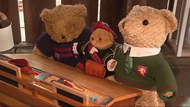 Ehefrau von Pfarrer besitzt 200 Teddybären