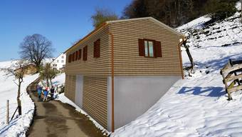 So soll das neue Unterkunftsgebäude aussehen.