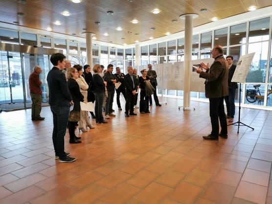 Rund 20 Vertreter der Behörden nahmen am Anlass teil.