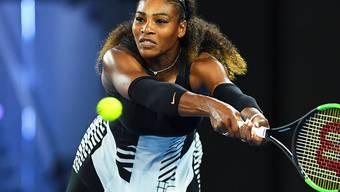 Serena Williams bei ihrem vorerst letzten Turniereinsatz: auf dem Weg zum Grand-Slam-Titel im Final des Australian Opens Ende Januar