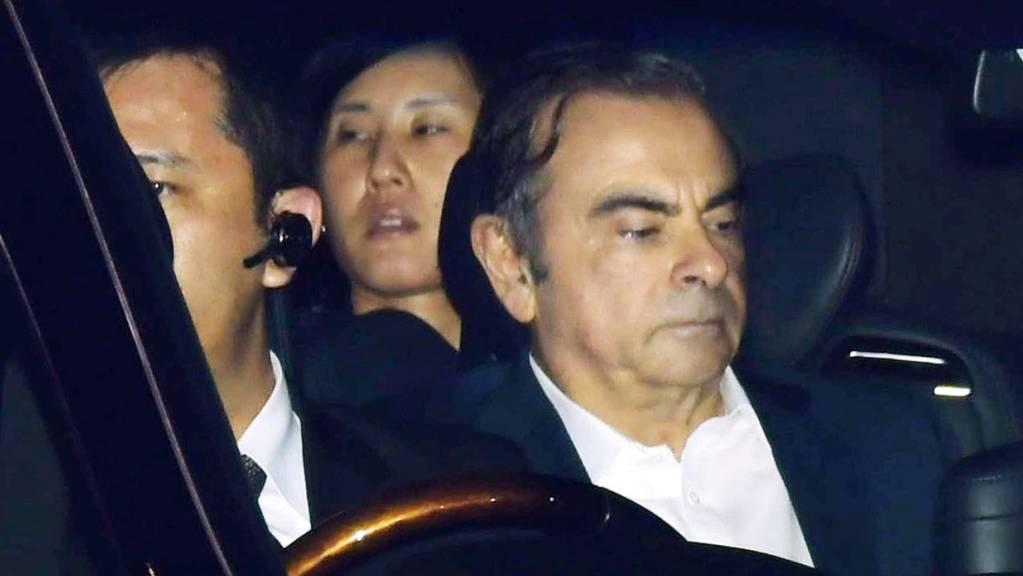 Nissan und dessen ehemaliger Chef Carlos Ghosn zahlen auch in den USA Strafen in Millionenhöhe. (Archivbild)