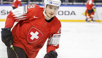 Timo Meier gelingt mit der Schweizer Nationalmannschaft ein Einstand nach Mass