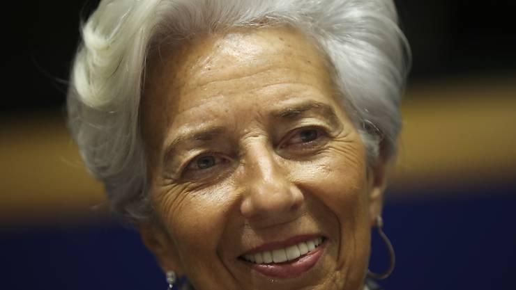 Christine Lagarde ist Präsidentin der EZB (Archivbild).