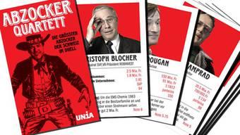 Im Abzocker-Quartett treten 32 Manager und Unternehmer gegeneinander an