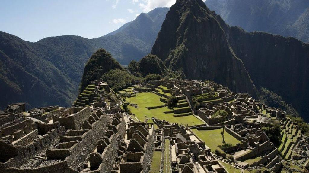 Exkremente im Inka-Tempel - Sechs Touristen festgenommen