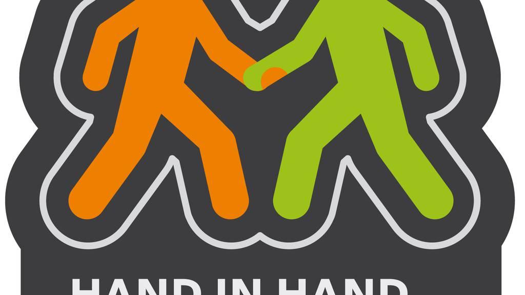 Hand in Hand: Aktion für Toleranz im Strassenverkehr