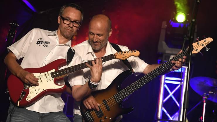 Rock66 im Golden Oldies Zelt.