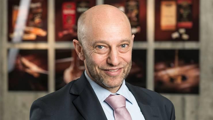 Daniel Bloch ist seit 1997 Chef des Schokoproduzenten Camille Bloch.