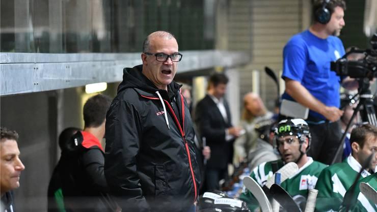 EHCO-Trainer Maurizio Mansi muss heute Abend gegen die GCK Lions nebst Bagnoud auch auf Reto Kobach verzichten.