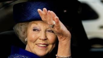 Beatrix bei ihrem letzten offiziellen Auftritt als Königin vor fünf Tagen