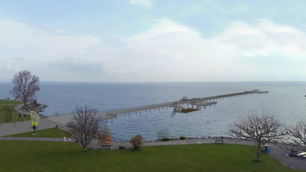 Kurznachrichten: Pier 8590, Schifffahrt, Brandstiftung, TVO