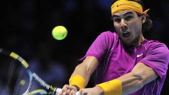 Raffael Nadal wirkt bestechend sicher.
