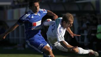 Der FC Wohlen mit Przemek Madry hatten gegen Vaduz keine Chance. Symbolbild
