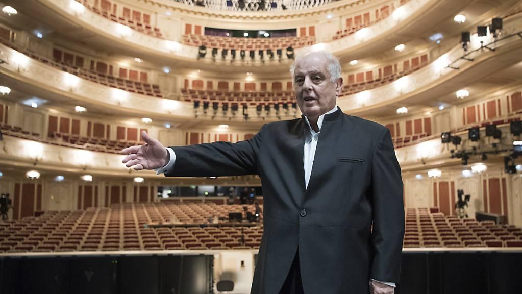 Stardirigent Daniel Barenboim hat am Samstag den Konrad-Adenauer-Preis der Stadt Köln erhalten.