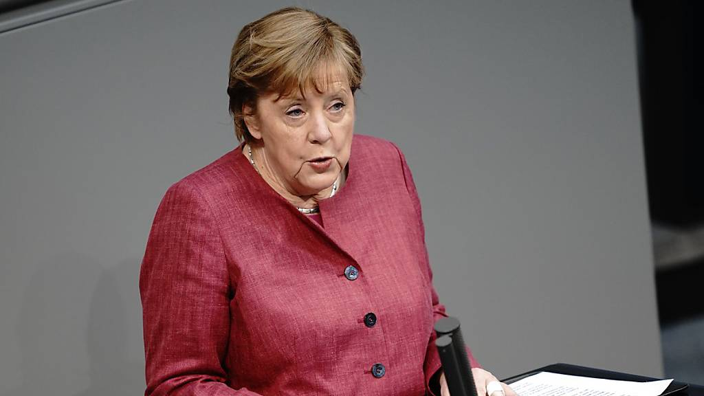 Merkel fordert schnelle Notbremse gegen dritte Corona-Welle