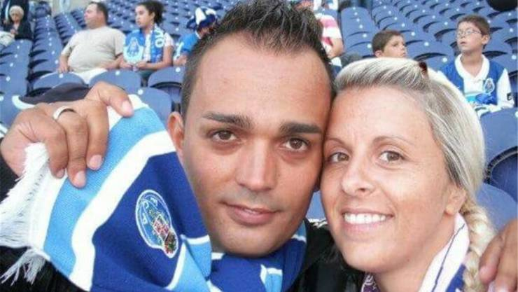 Rui Manuel Cardoso mit seiner Frau Danijela