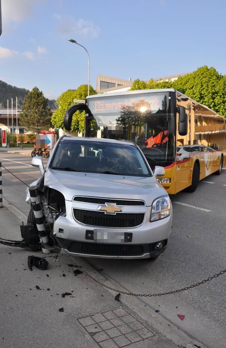 Wer ist schuld am Unfall?