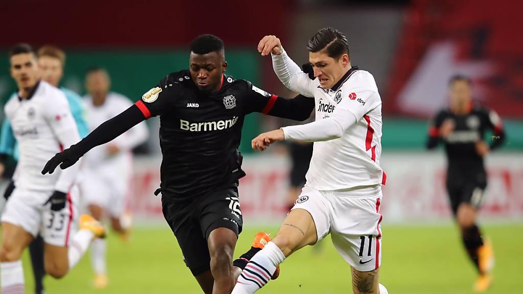 Frankfurt im Cup ausgeschieden – Jovic vor Rückkehr