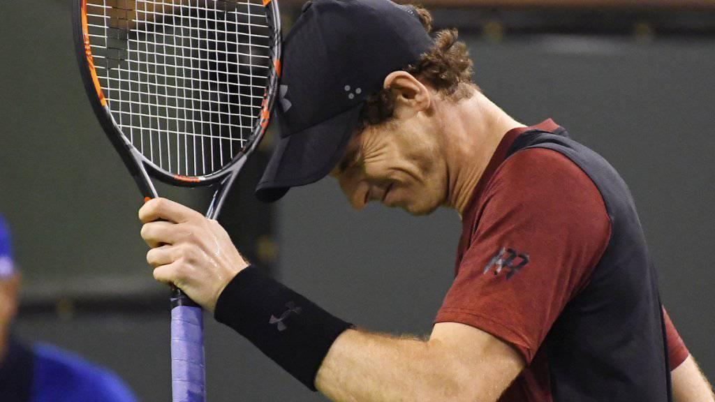 Andy Murray muss auf Miami verzichten
