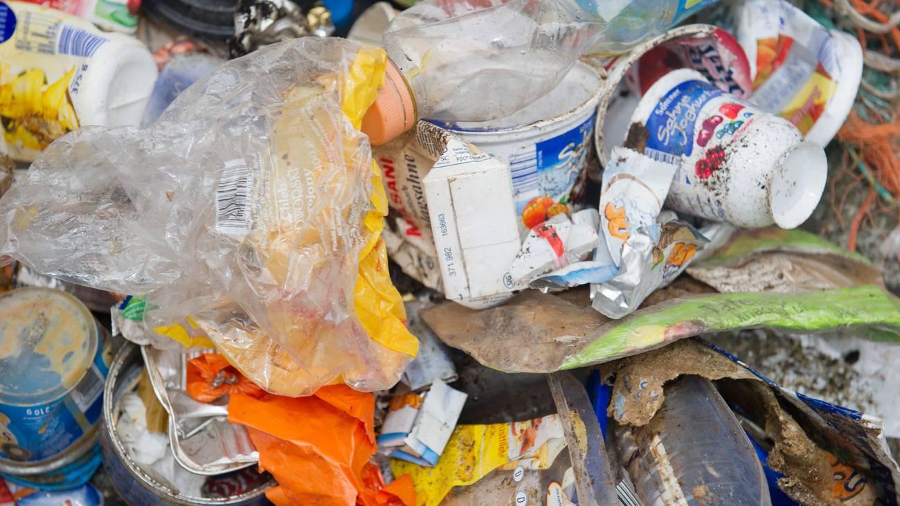 Plastikabfall Good News Meer EU Müll