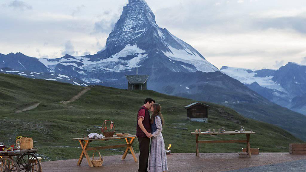 David Taugwalder als Jakob Zmutt und Romaine Müller als Maria Brenni sind «Romeo und Julia am Gornergrat» - ein eindrückliches Freilichtspiel vor eindrücklicher Naturkulisse.