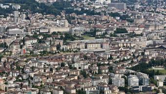 Lausanne hat von 2007 bis 2017 um 16,6 Proeznt zugelegt.