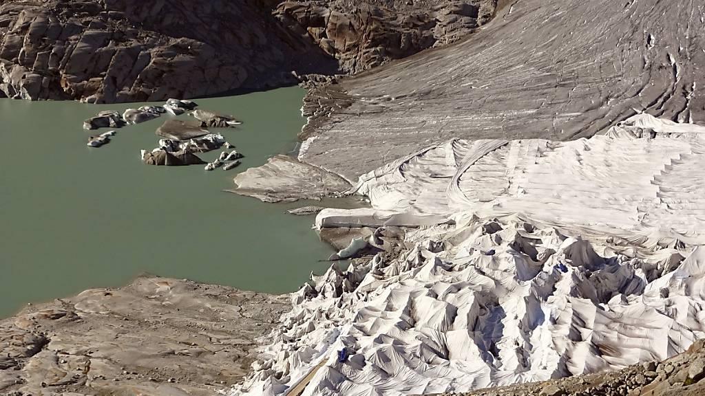 Gletscher einpacken nur für kleine Flächen sinnvoll
