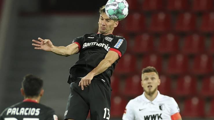 Lucas Alario war der Matchwinner in Leverkusen