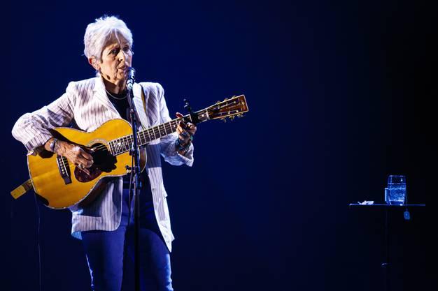 und Joan Baez bei ihren Auftritten in Montreux.