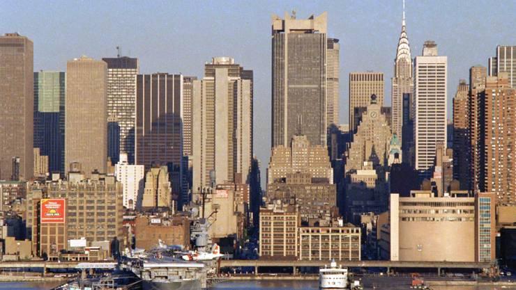 Die Stadt New York hat im vergangenen Jahr erneut millionenfach Besucher angezogen. (Archivbild)