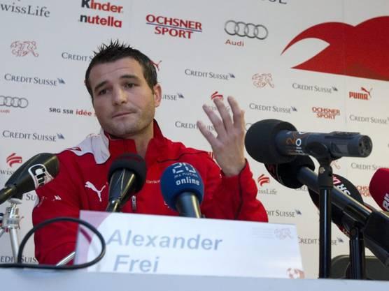 Alex Frei erklärt seinen Rücktritt