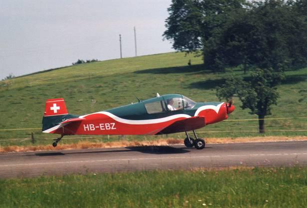 Mit einem Flugzeug dieses Typs, einem Jodel-Zweisitzer, geschah das Unglück.