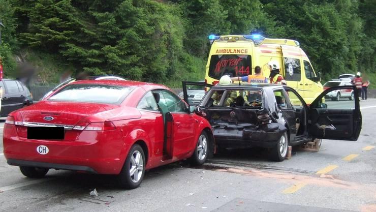 Schwerer Verkehrsunfall in Dittingen