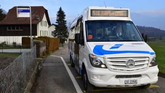 Die neue Busline fährt von der Haltestelle «Mahren, Lostorf» (im Bild) nach «Rohr bei Olten».