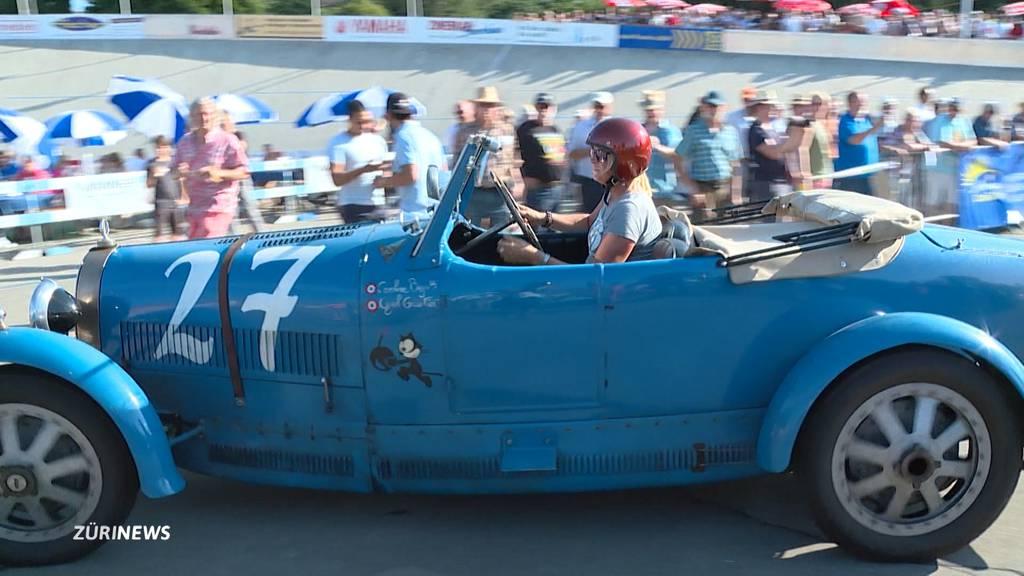 Fahrerin Caroline Bugatti am Indianapolis