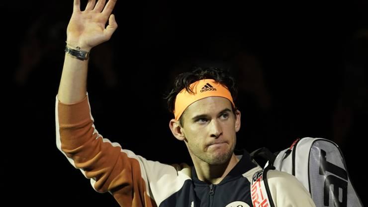 Erfreut sich in London einer glänzenden Form: Dominic Thiem steht am Sonntag als erster Österreicher im Final der ATP Finals