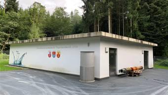 2016 wurde das Pumpwerk Tägerhardwald eingeweiht. Bild: zvg