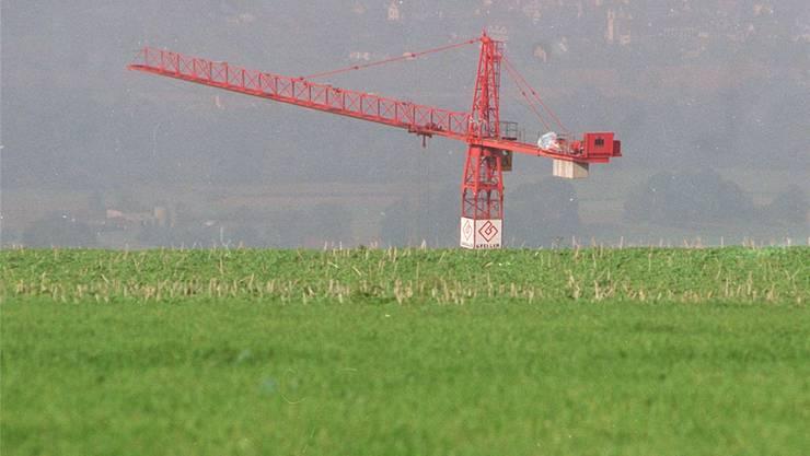 Baukräne werden auch im kommenden Jahr die Landschaft prägen - wenn auch nicht mehr in derselben Dichte.