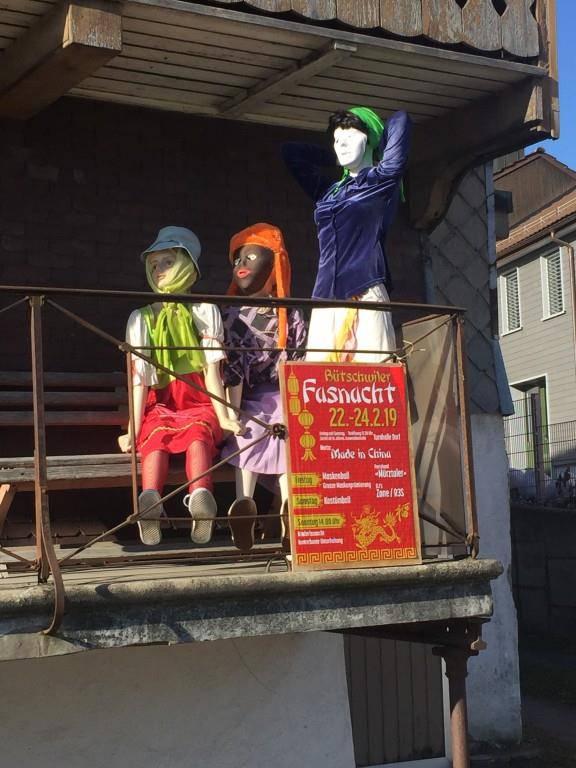 Fasnachtspuppen in Bütschwil