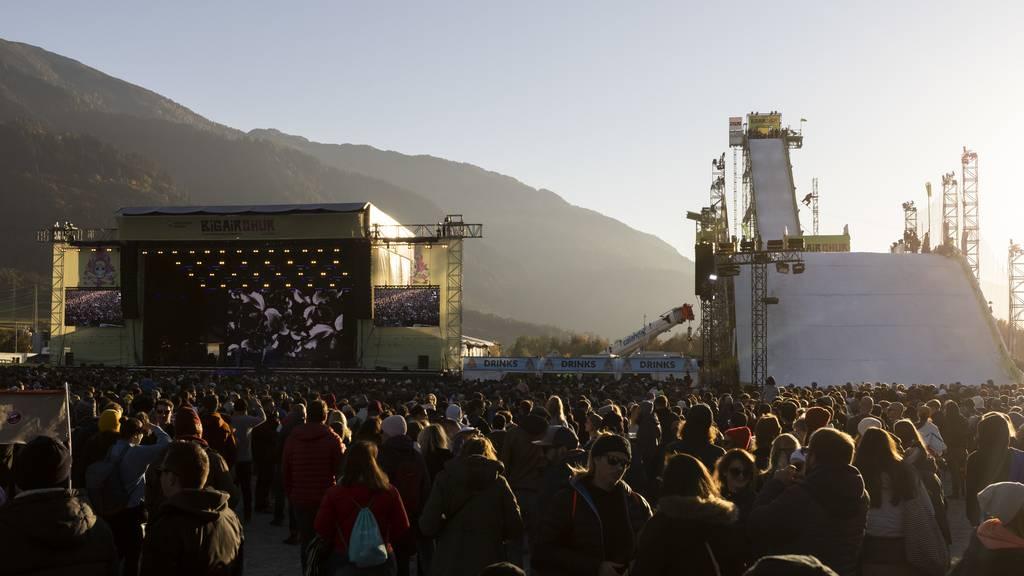 30'000 Besucher an Big Air in Chur – keine grossen Zwischenfälle