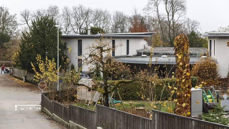 Die Gemeindegrenze verläuft mitten durch dieses Haus
