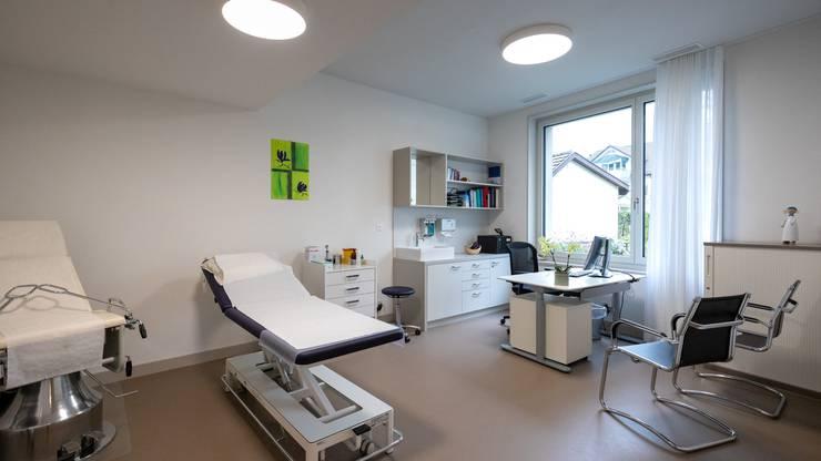 Am Samstag öffnete das neue Haus am Dorfplatz 2 in Erlinsbach seine Türen.