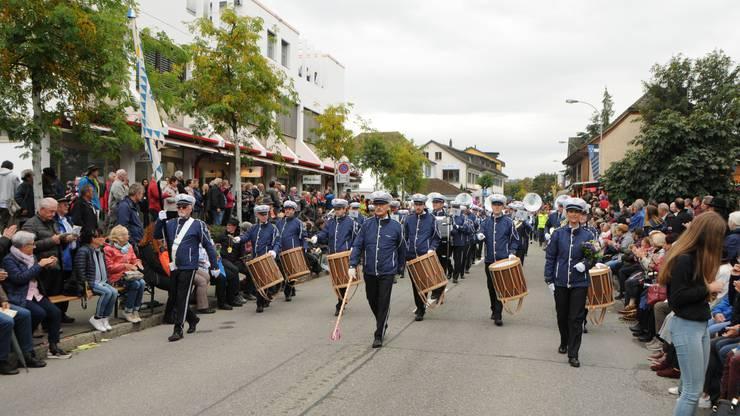 Impressionen vom Winzerumzug am Döttinger Winzerfest, aufgenommen am 6. Oktober 2019.